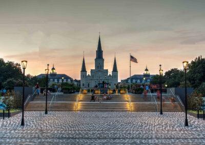 Moonwalk Promenade, New Orleans, LA