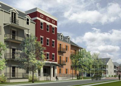 Guste III Housing Development, New Orleans, LA