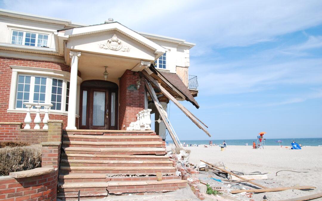 New York City Super Storm Sandy Disaster Recovery. New York, NY