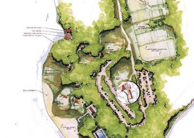 Two Mile Run Park Master Plan, Venango County Park, PA
