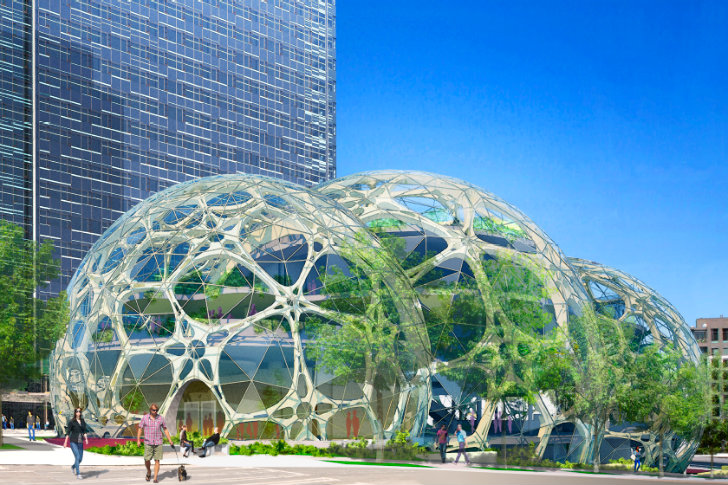 Amazontown: Jeff Bezos Disrupts the Urban Workspace
