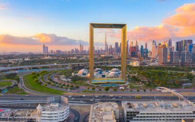 Framing Dubai: A Giant Structure Showcases More Than Just a Skyline