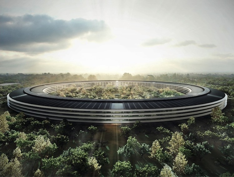 Space-Age Architecture: Apple's Mothership Lands in Cupertino
