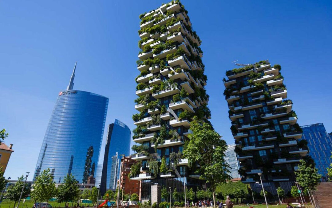 New Growth Buildings: Green Architecture Branches Out