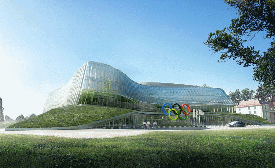 Symbolic Design: The International Olympic Commission Gets a Fitting Home