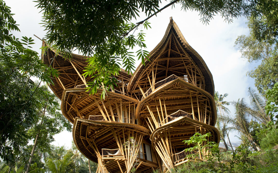 Green As Grass: An All-Bamboo Building Inspires in Bali