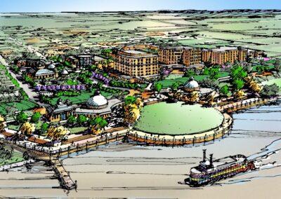 Port Allen Riverfront Master Plan, Port Allen, LA